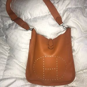 Hermès- evelyne in classic Hermès orange